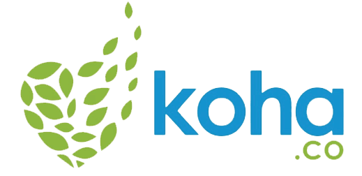 Koha.co black logo